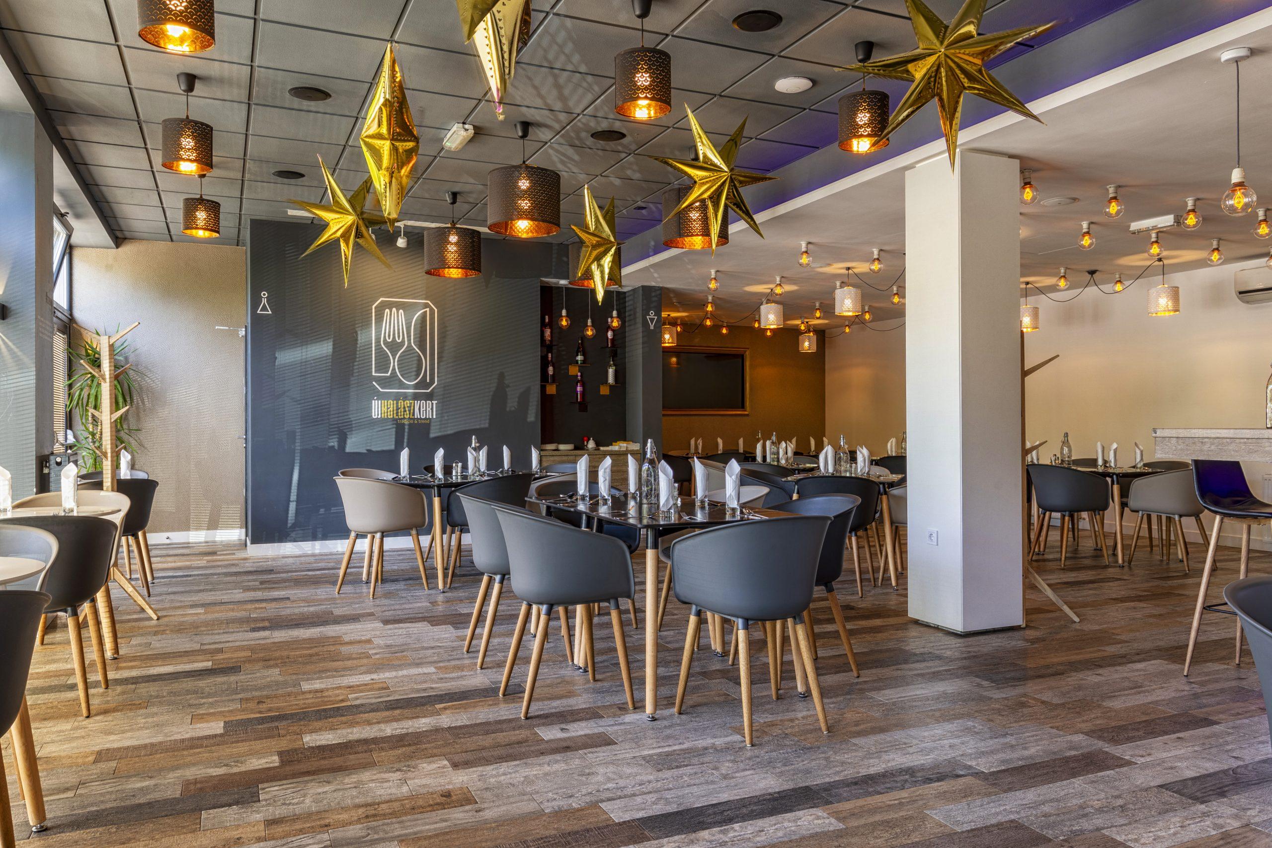 Új Halászkert Étterem Gyömrő